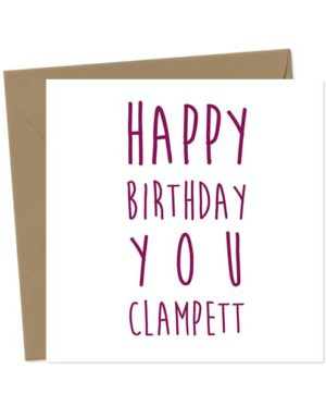 Happy Birthday You Clampett - Birthday Card