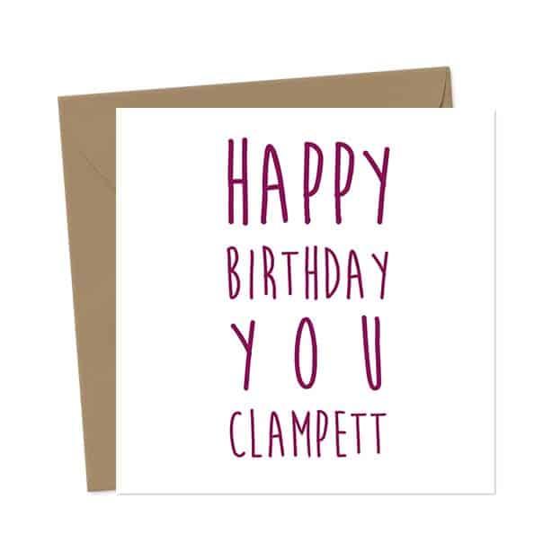 Happy Birthday You Clampett – Birthday Card