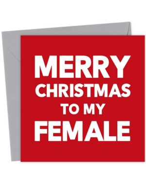 Merry Christmas to my Female