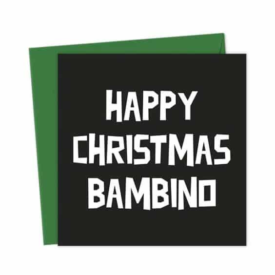 Happy Christmas Bambino