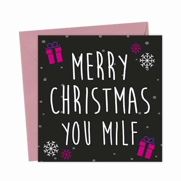 Merry Christmas You MILF