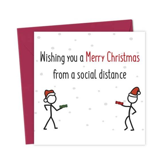 Wishing you a Merry Christmas from a Social Distance