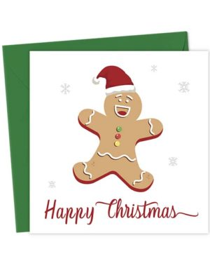 Happy Christmas Gingerbread Card
