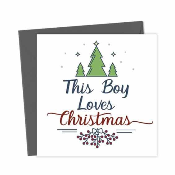 This Boy Loves Christmas