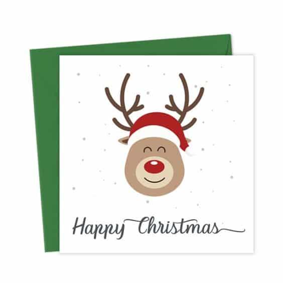 Happy Christmas Reindeer