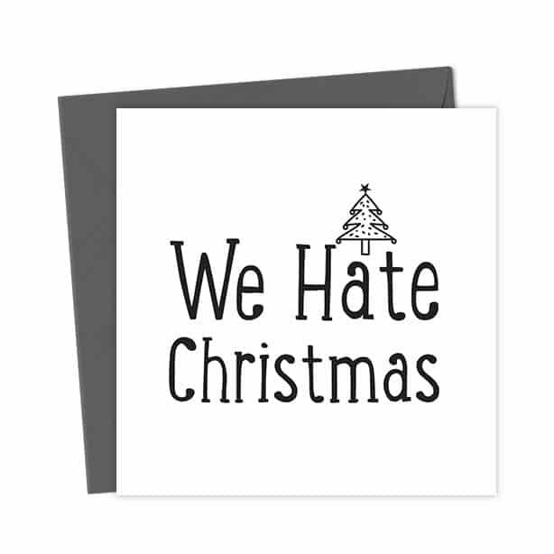 We Hate Christmas