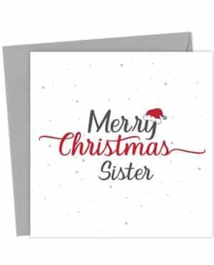 Merry Christmas Sister - Christmas Card