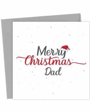 Merry Christmas Dad - Christmas Card