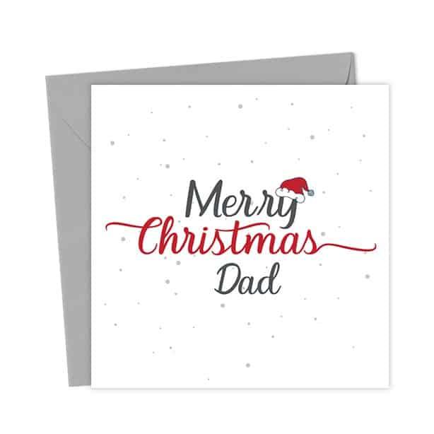 Merry Christmas Dad – Christmas Card