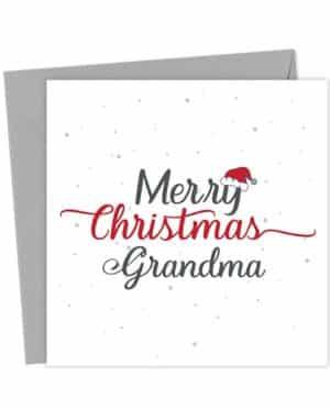 Merry Christmas Grandma - Christmas Card