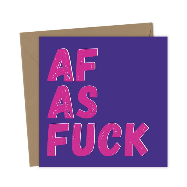 AF As Fuck