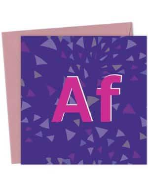 AF - Alcohol Free
