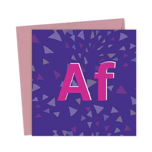 AF – Alcohol Free