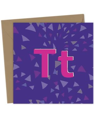 TT - Teetotal Greeting Card