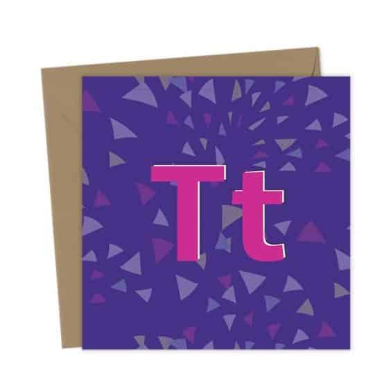 TT – Teetotal Greeting Card