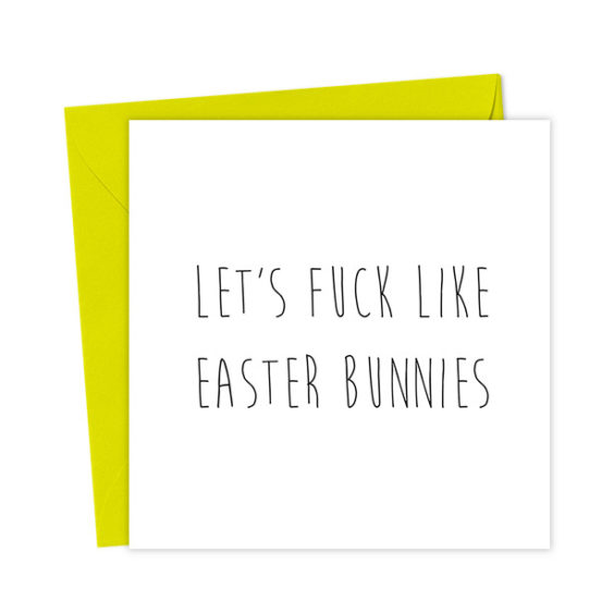 Let's Fuck Like Easter Bunnies