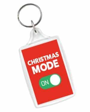 Christmas Mode On Keyring
