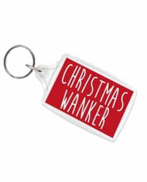 Christmas Wanker Keyring