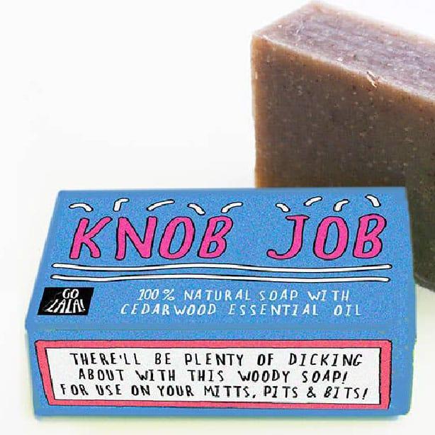 Knob Job Soap Bar Funny Soap