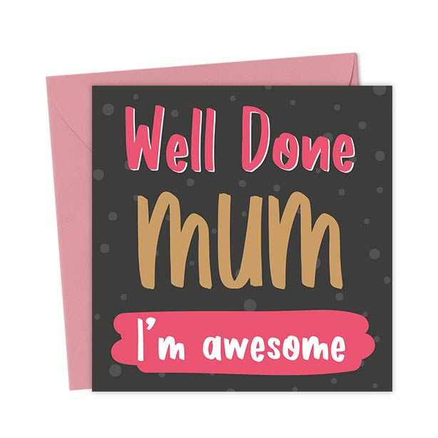 Would you like us to print a message inside the card? Just tick the box below and type away. We can even deliver the card direct to your victim!