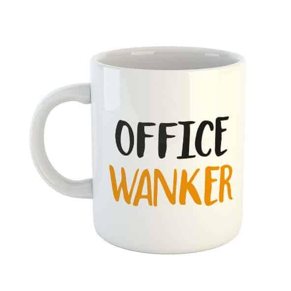 Office Wanker Mug