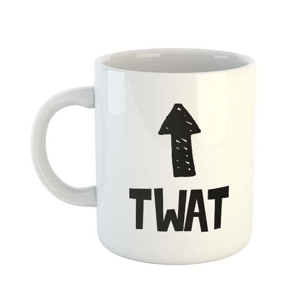 Twat (Arrow) Mug