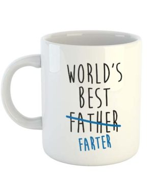 World's Best Father Farter - Mug