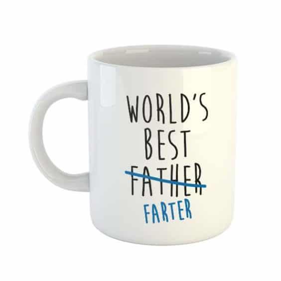 World's Best Father Farter – Mug