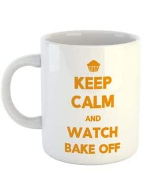 Keep calm and watch Bake Off Mug