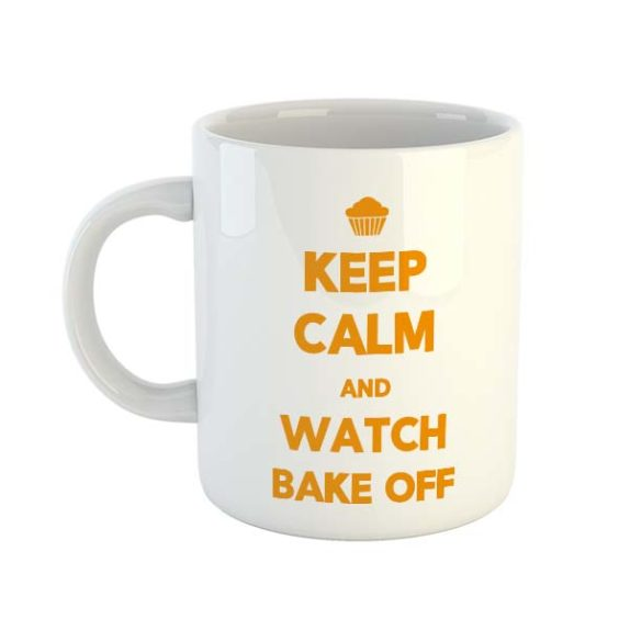 Keep calm and watch Bake Off Mug
