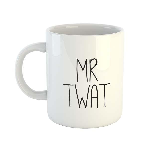Mr Twat Mug