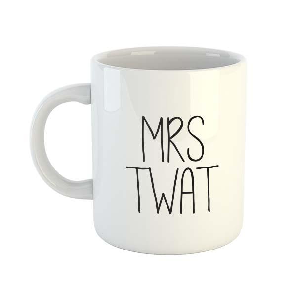 Mrs Twat Mug