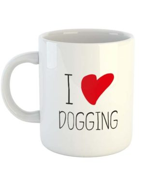 I Heart Dogging Mug