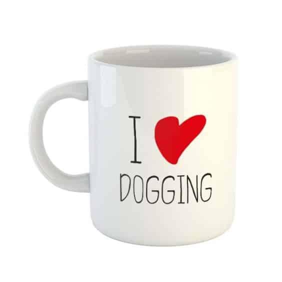 I Heart Dogging Mug