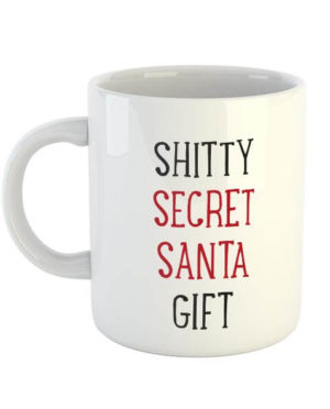 Shitty Secret Santa Gift Mug