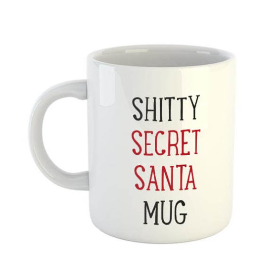 Shitty Secret Santa Mug