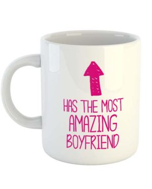Has the most amazing Boyfriend (Arrow) Mug
