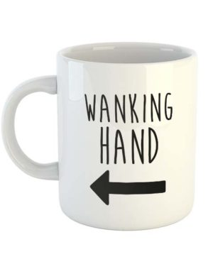 Wanking Hand (Arrow) Mug