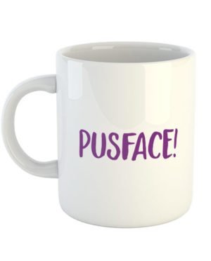 Pusface! Mug