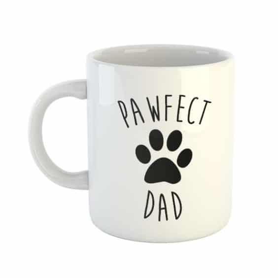 Pawfect Dad Mug