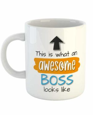 This is what an awesome boss looks like Mug