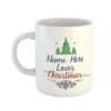 Loves Christmas Personalised Name Mug
