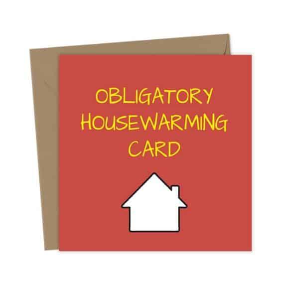 Obligatory Housewarming Card