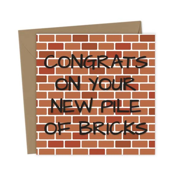 Congrats on your new pile of bricks