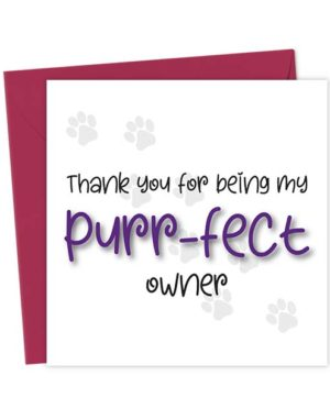 Thank you for being my purr-fect owner