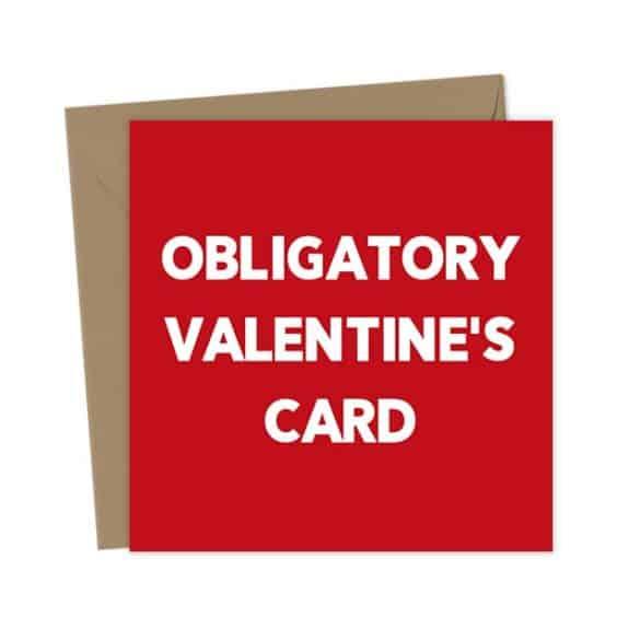 Obligatory Valentine's Card