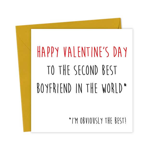 Happy Valentine's Day to the second best Boyfriend in the world