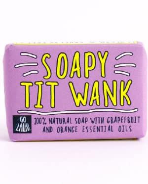 Soapy Tit Wank Soap Bar